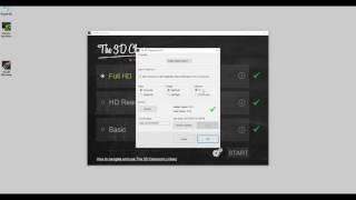 How to change the settings in The 3D Classroom Premium