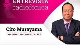Entrevista de Ciro Murayama sobre multa a Morena por el Fideicomiso de los terremotos