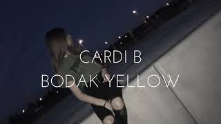 cardi b- bodak yellow