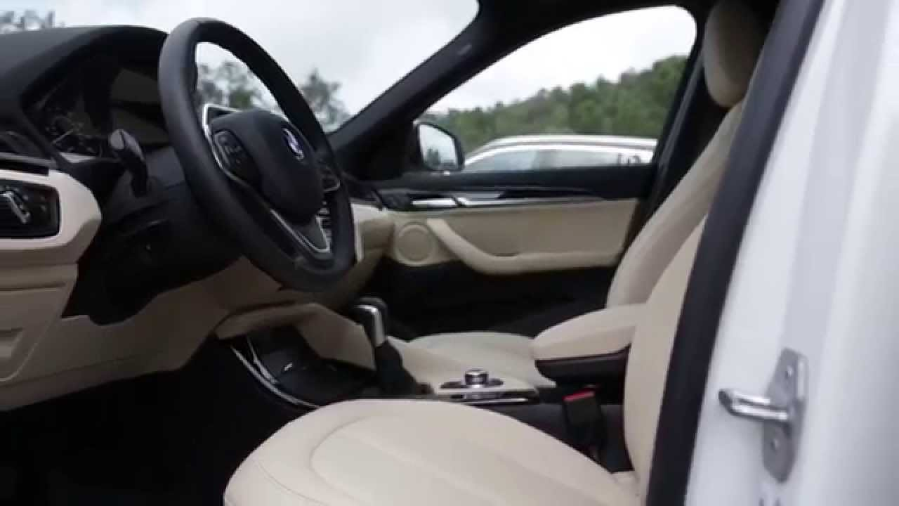 The All New 2016 Bmw X1 Xdrive28i Interior Design In Beige