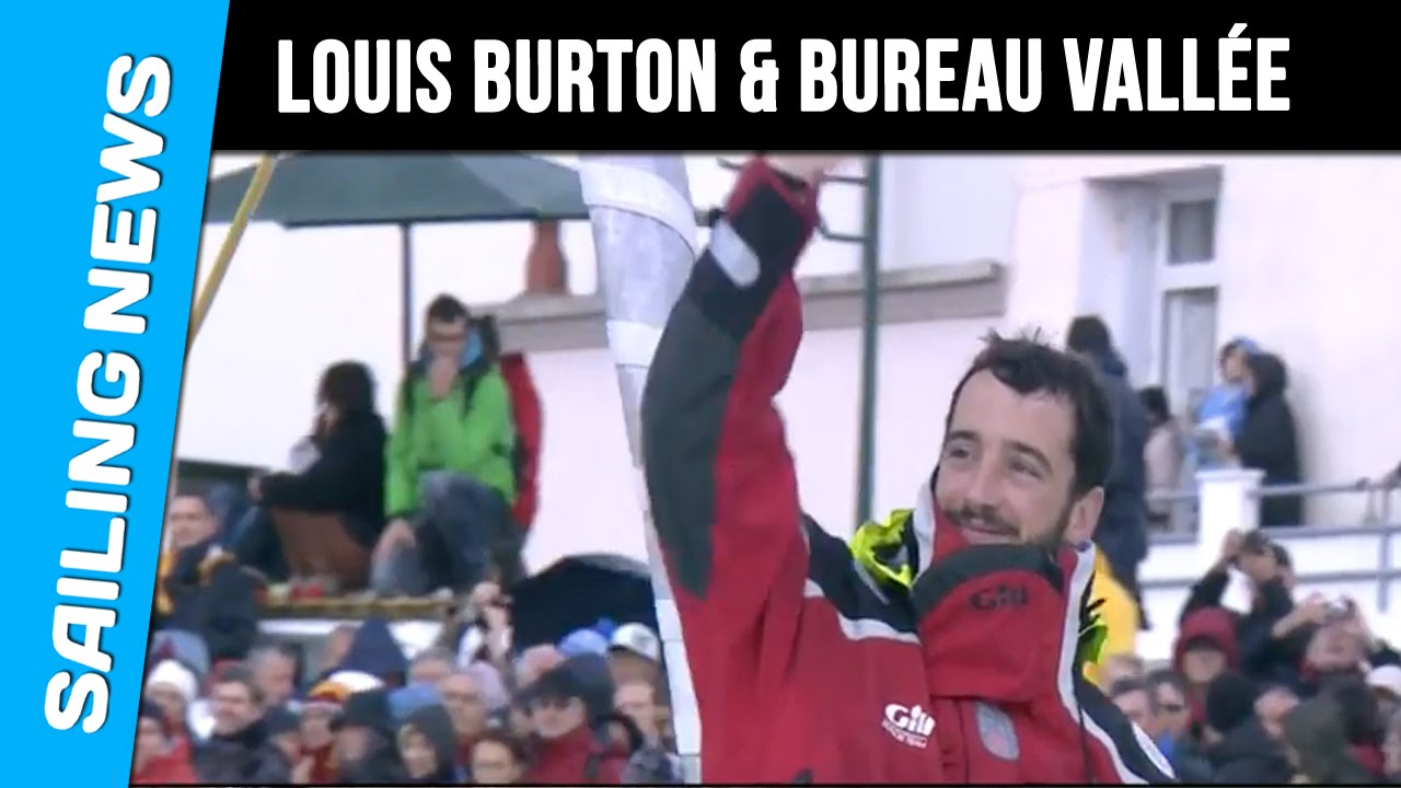 Vende Globe Louis Burton Bureau Valle YouTube