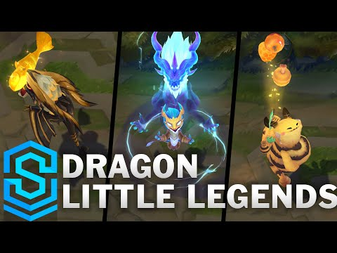 Fates Little Legends | Ao Shin, Choncc, Umbra, Lucky Fuwa & Jade Emperor Sprite (TFT Set 4)