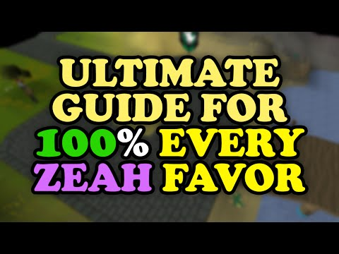 [OUTDATED] The ULTIMATE Architectural Alliance Guide to 100% Favor in All Zeah Houses OSRS RuneScape