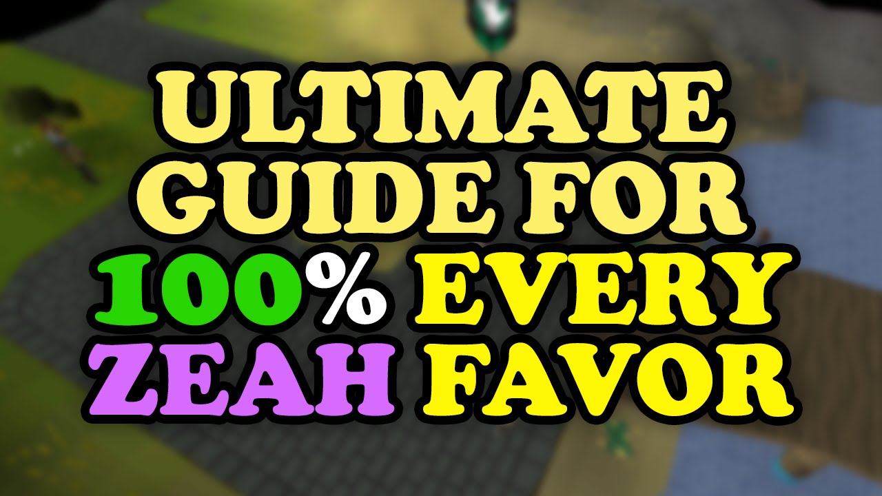 [OUTDATED] The ULTIMATE Architectural Alliance Guide To 100% Favor In All  Zeah Houses OSRS RuneScape   Clipzui.com