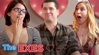WHO CHEATED?! EX VS. GF | THE EXES GAME SHOW