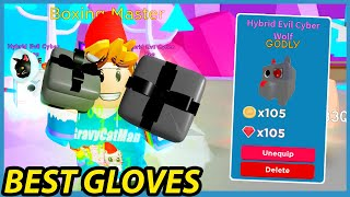 Getting The Best Boxing Gloves & Godly Pets in Roblox Champion Simulator