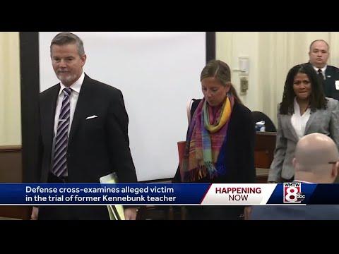 Parents of alleged victim testify in sex assault trial of former teacher