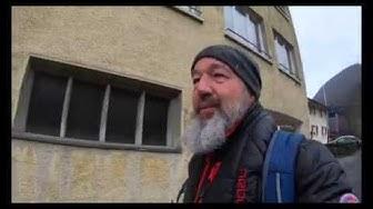 Taubenloch Schlucht , Gorges du Taubenloch im Dez 2019 mit viel Wasser und Gschwätz 4K