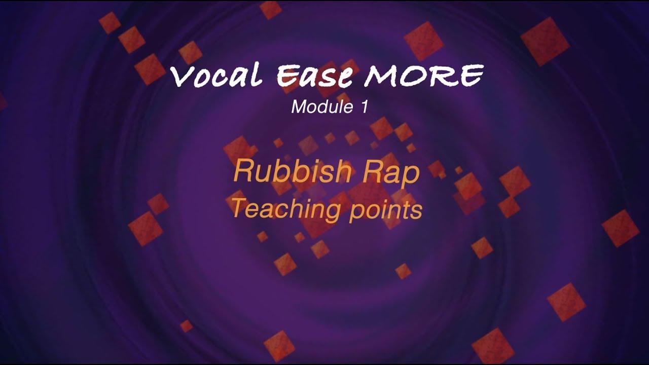 Rubbish rap | Curriculum