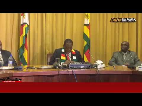 MNANGAGWA ANNOUNCES OIL AND GAS DISCOVERY