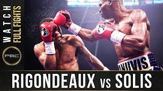 Rigondeaux vs Solis FULL FIGHT: February 8, 2020 | PBC on SHOWTIME