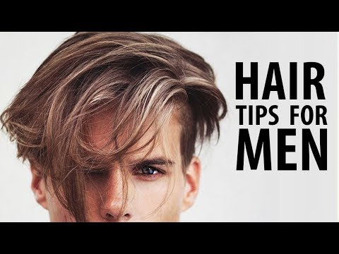 HEALTHY HAIR TIPS FOR MEN   HOW TO HAVE HEALTHY HAIR   Men's Hair Care
