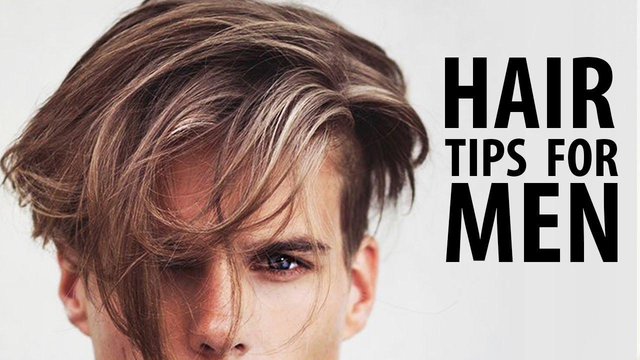 healthy hair tips men