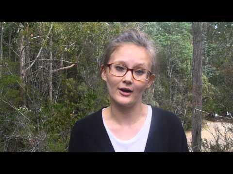 Pauline an der University of Tasmania