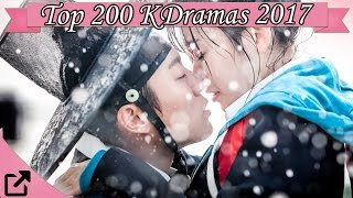 Video Top 200 Korean Dramas 2017 download MP3, 3GP, MP4, WEBM, AVI, FLV Maret 2018