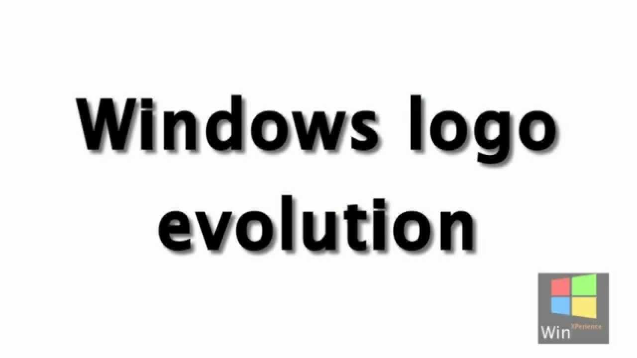 Windows Logo Evolution1985 2012