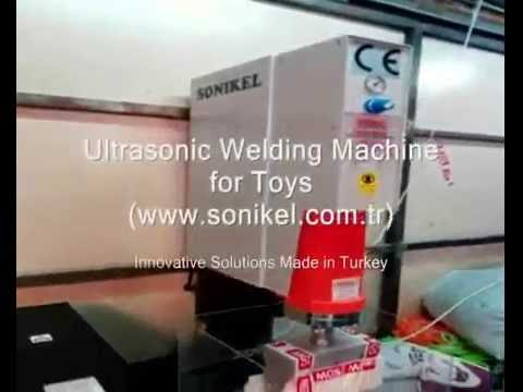 Ultrasonic Plastic Welding and Sealing Machine for Children Toys Industry