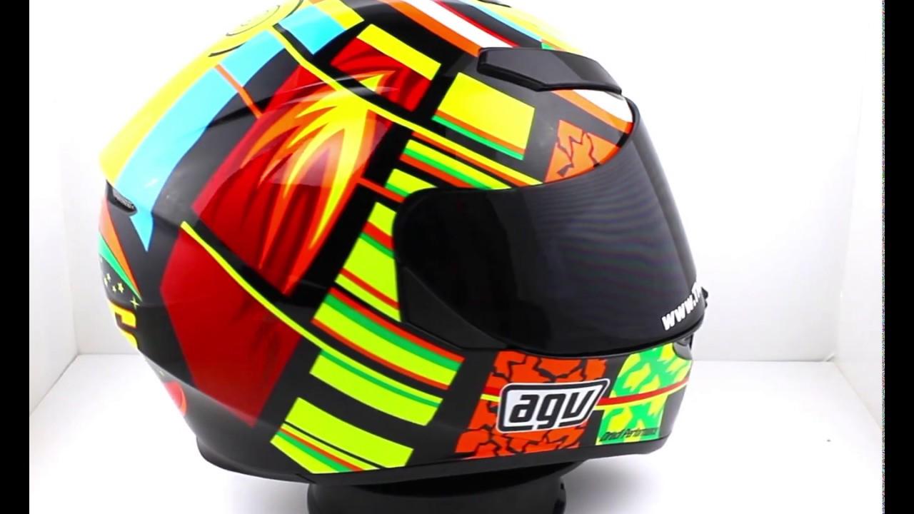 Agv K3 Sv Motorcycle Helmet Elements Youtube