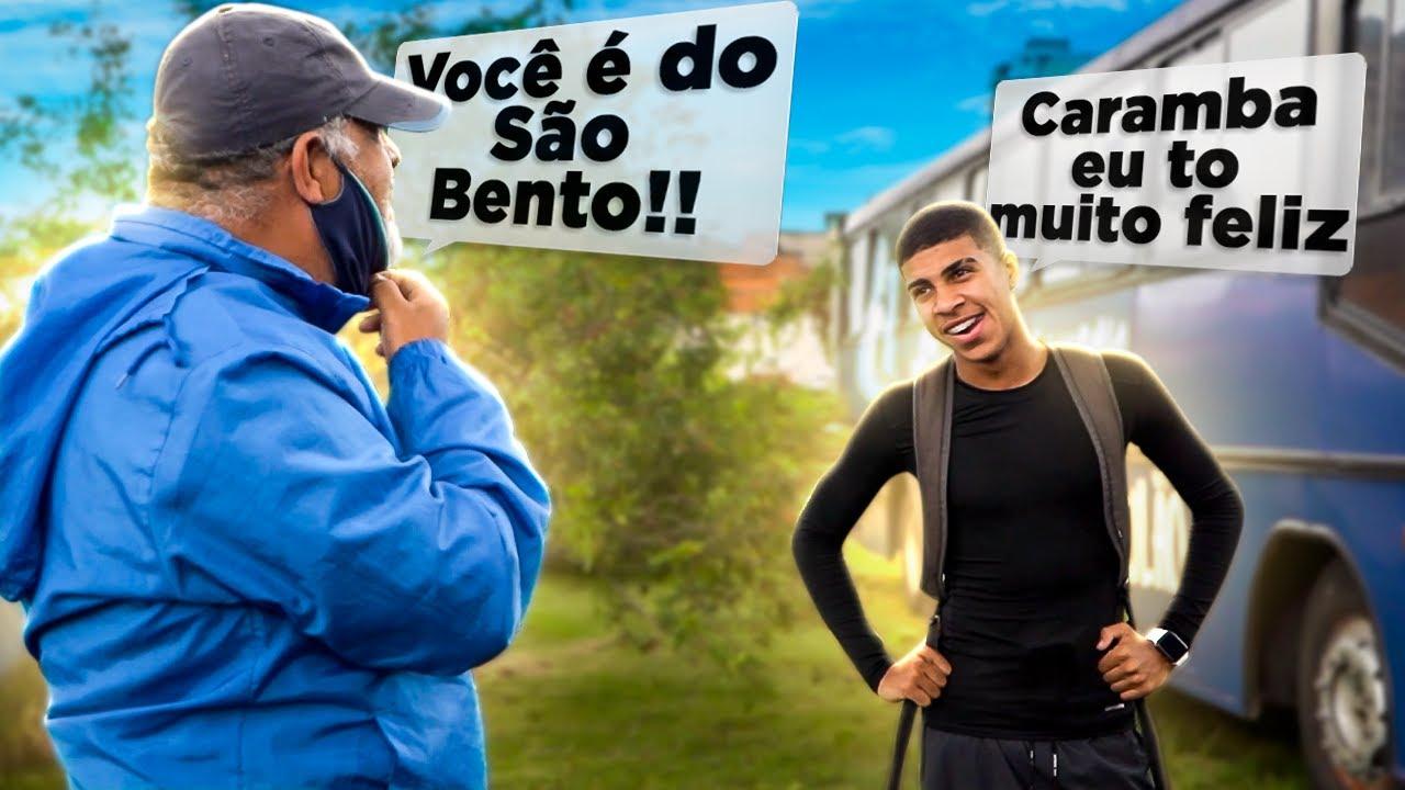O MENINO POLÊMICO PASSOU NO TESTE DO SÃO BENTO!!