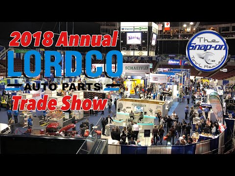 2018 Lordco Trade Show Walk Through - Lots Of Tools!