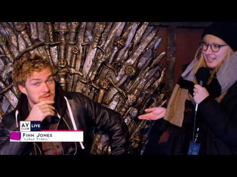 Game Of Thrones' Finn Jones has a very unusual theory on who will end up on the Iron Throne