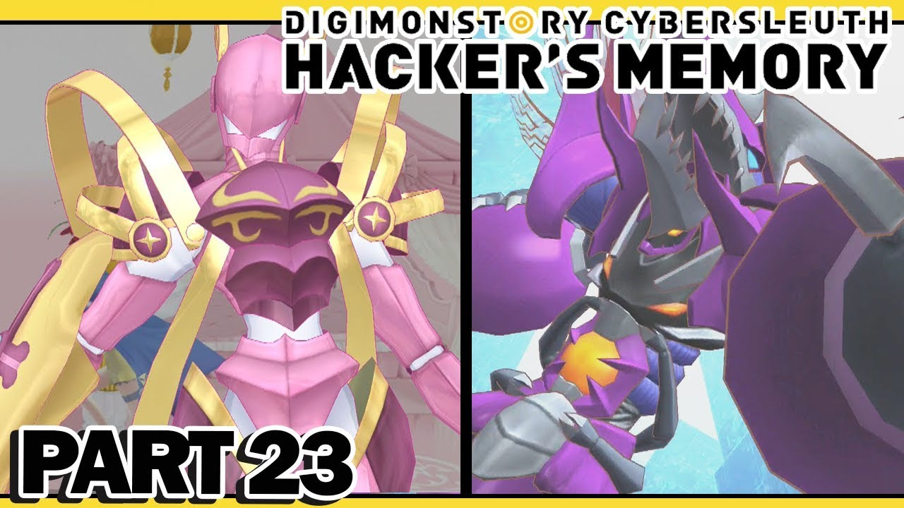 Digimon Story Cyber Sleuth Hacker S Memory Part 23