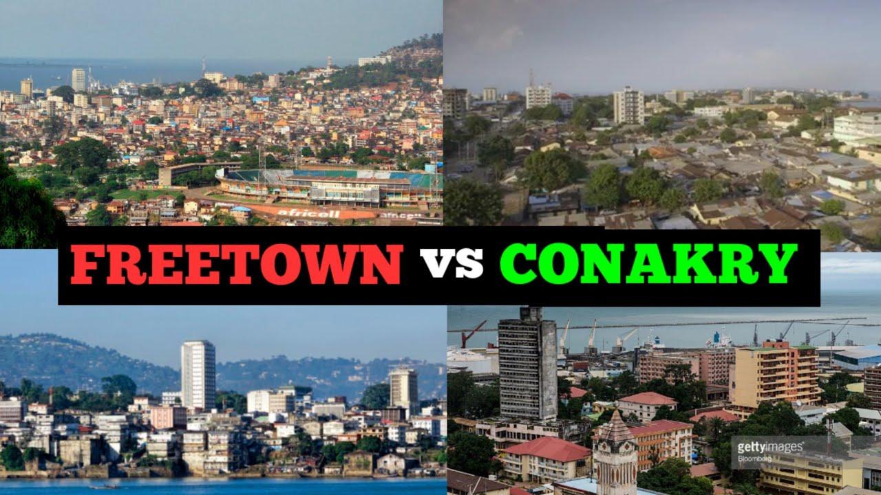 Download Freetown Sierra Leone vs Conakry Guinea;Which City is Most Beautiful?Quelle Ville est la Plus Belle