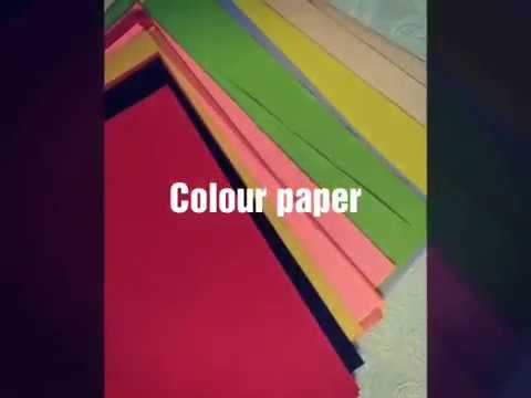 HOW TO MAKE PAPER BOW|FLOWER |DIY CRAFT |EASY TO MAKE |PAPER BOW.