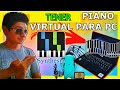 Como Instalar Un Piano Virtual Para Pc | Piano Synthesia 2019