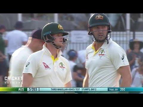 Third Test: Australia v England, day two