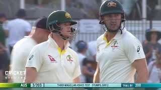 Third Test: Australia v England, day two