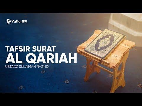 Tafsir Surat Al Qariah Ustadz Sulaiman Rasyid Yufid Edu