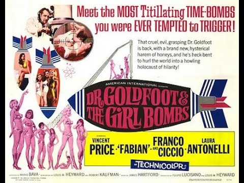 Download Dr Goldfoot and the Girl Bombs (1966)   Theatrical trailer