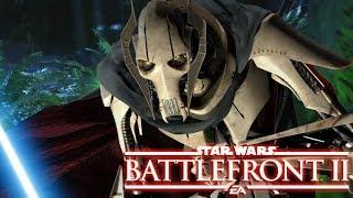 Yoda vs General Grievous - STAR WARS: Battlefront 2 DLC