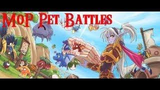 Zunta World Of Warcraft Pet Battle Tutorial Walkthrough Mop Beta