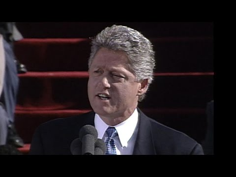 Bill Clinton inaugural address: Jan. 20, 1993