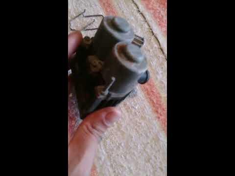 Ремонт клапанов печки (яйца) Мерседес W210