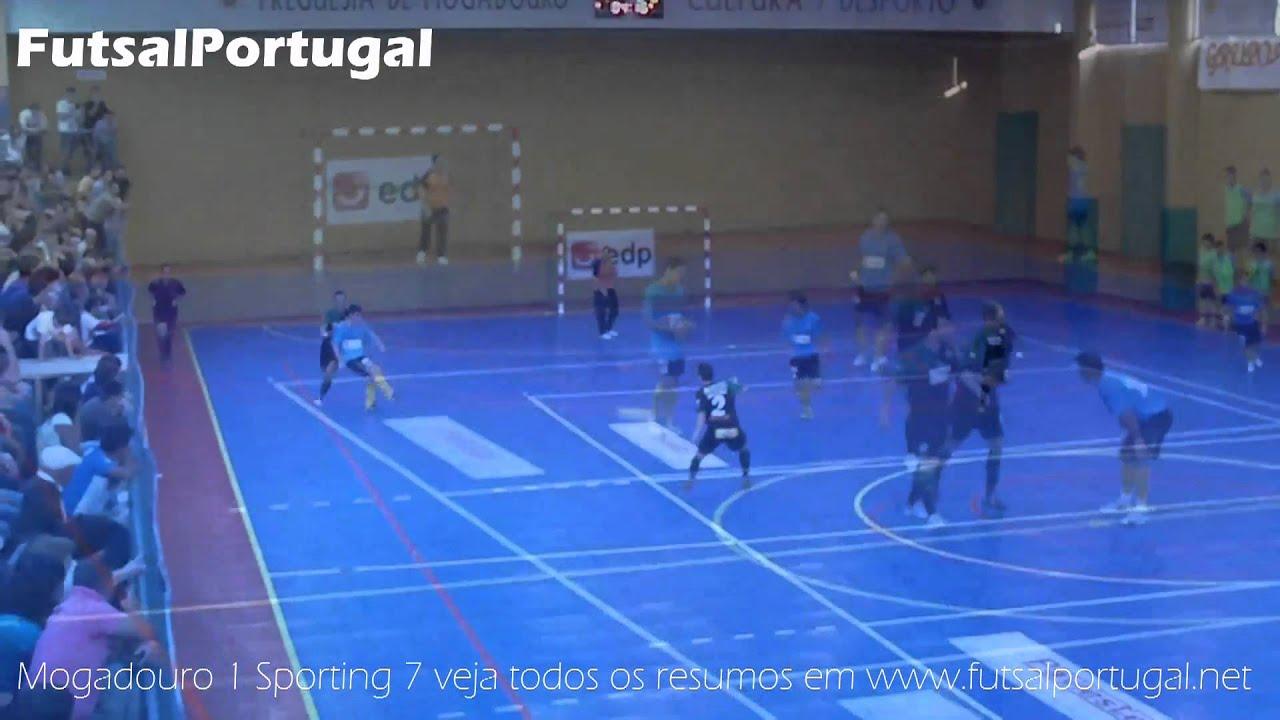 Futsal :: 02J :: Mogadouro - 1 x Sporting - 7 de 2010/2011