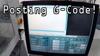 Posting G-Code to CNC Machine - Fusion 360 Tutorial!