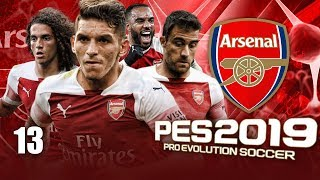 INSANE MATCH VS MANCHESTER UNITED!!   PES 2019 ARSENAL MASTER LEAGUE #13 (PC 60fps Gameplay)
