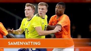 Samenvatting Jong Oranje - Jong Schotland (11/9/2018)