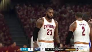 NBA 2K17 NBA Finals Game 3 - Golden State Warriors vs. Cleveland Cavaliers