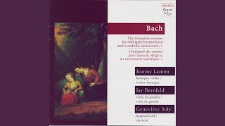 Sonate III En Sol Mineur, Pour Clavecin Obligé Et Viole De Gambe (BWV 1029) : II Adagio