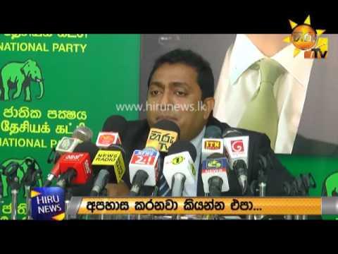 Minister Akila responded to the Chief Incumbent of Rangiri Dambulu Vihara