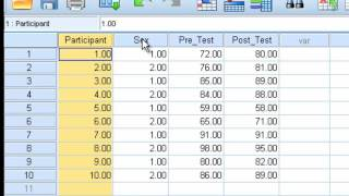 Paired Sample t-test