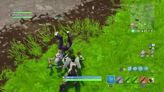 The worm dance glitch ( fortnite battle royal #6 )