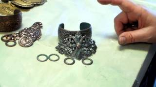 Using Plated Brass Stampings in Your Jewelry Designs, How to Make Gilt Brass, Good Plating