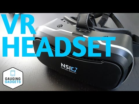 NSInew VR Headset Review - Virtual Reality Goggles NSI