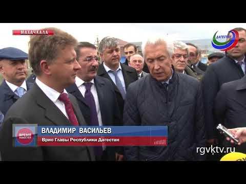 Врио главы Дагестана принял участие в открытии трассы Каспийск – Махачкала