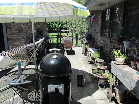 How to BBQ on a Weber Smokey Mountain